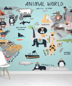 Scandi Style Wallpaper Mural