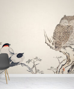 Mimizuku Owl Wallpaper Murals