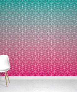 Ombre Pink Wallpaper mural