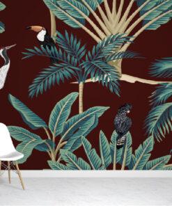 Exotic Jungle Wallpaper Murals
