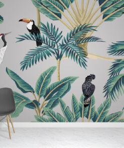 Botanical Jungle Wallpaper Mural