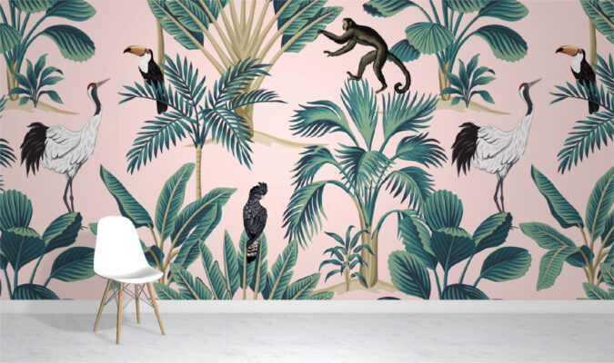 Plants and Animal Wallpaper