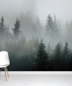 Deep Mist Wallpaper Mural