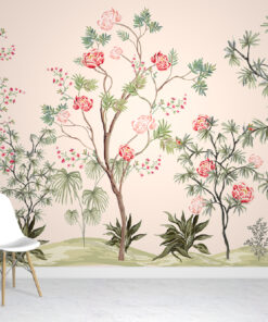 Exotic Chinoiserie Pattern