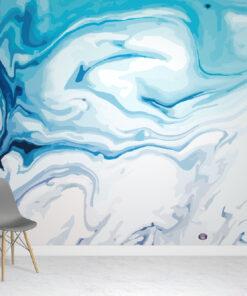 Blue Marble Wallpaper Mural