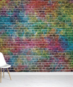 Splash Graffiti Wallpaper Mural