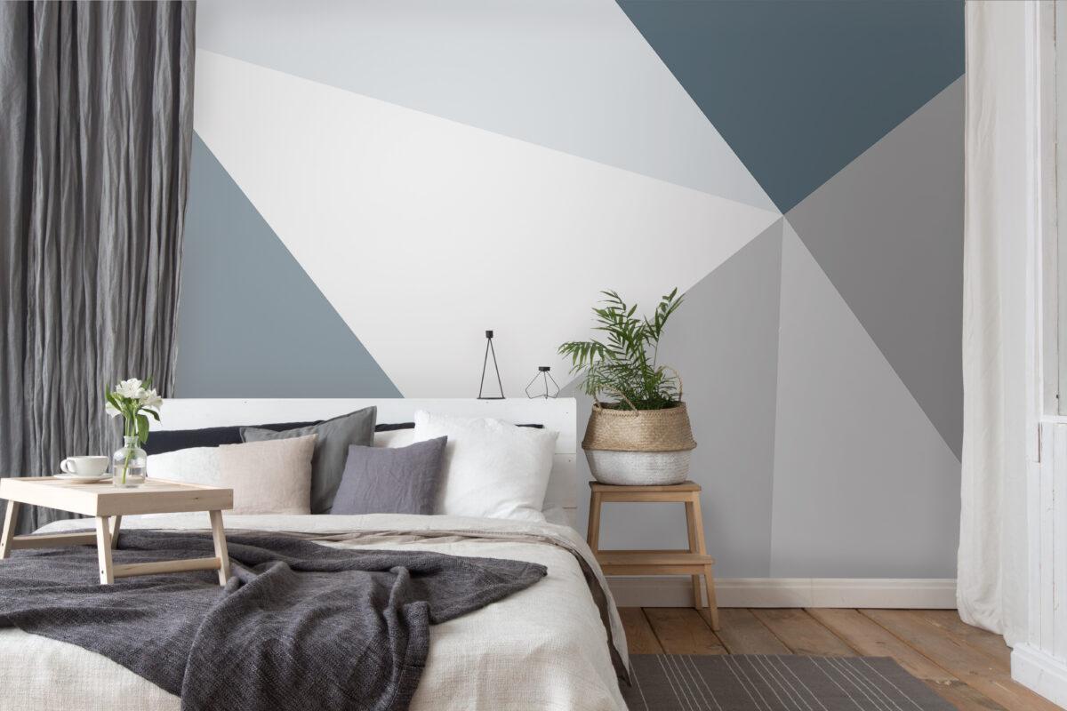 Wall Murals - Geometric wallpaper