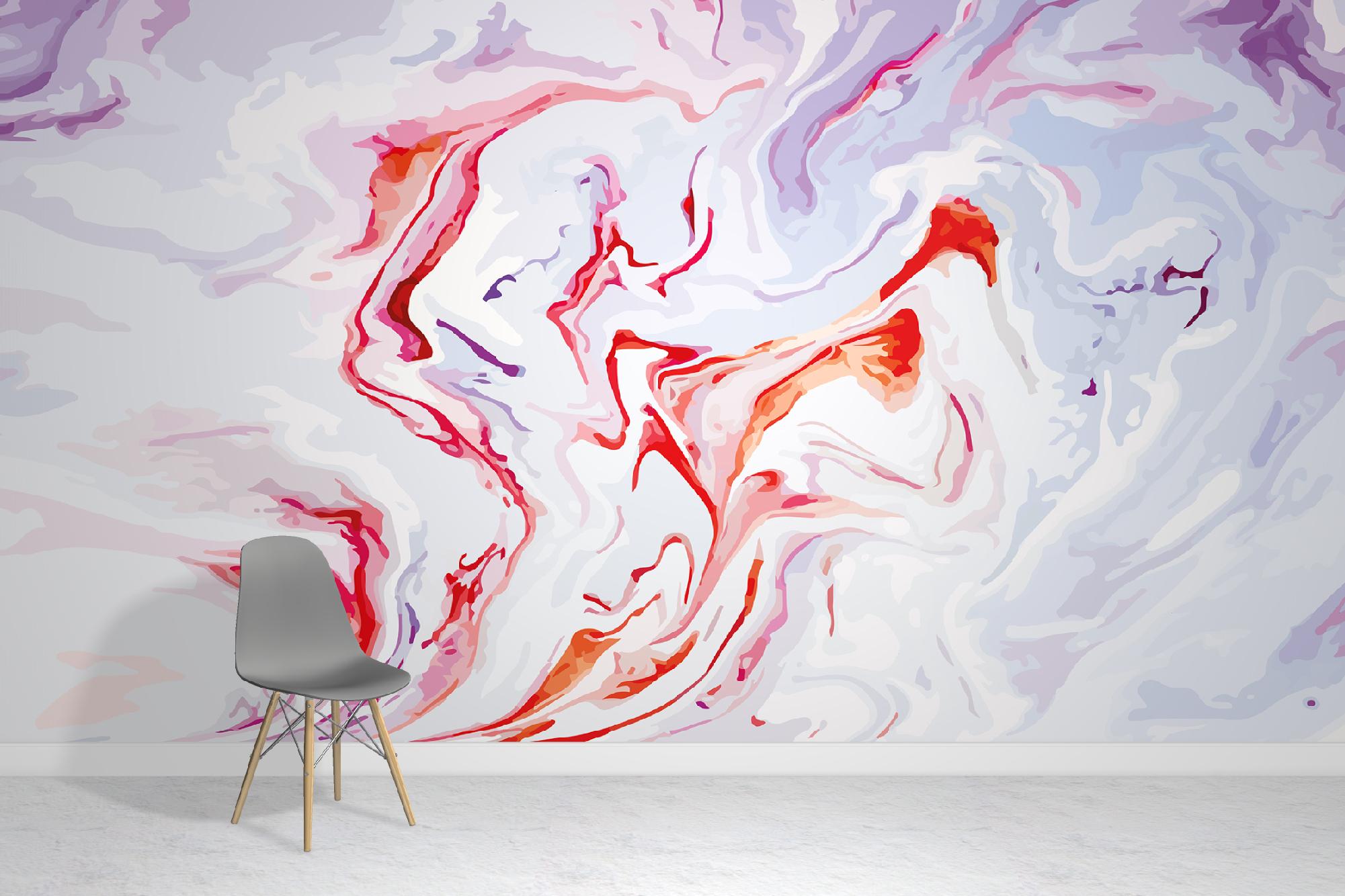 Vivid Marble Wallpaper Mural