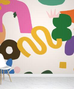 Bold Abstract Wallpaper
