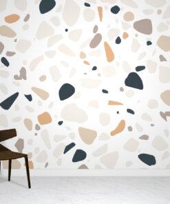 Terrazzo stone wallpaper