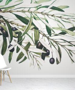 Olive Branch wallpaper mural
