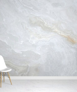 Oyster Marble Wallpaper