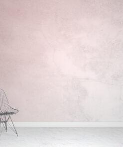 Pink Concrete Wallpaper Mural