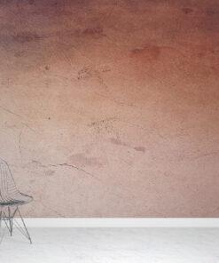 Red plaster wallpaper