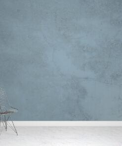 Teal Concrete Wallpaper