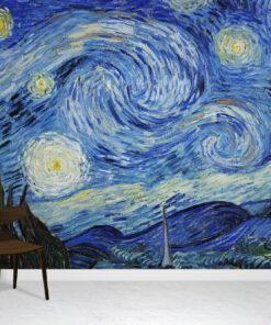 Starry Night Wallpaper Mural