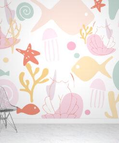 sea wallpaper mural