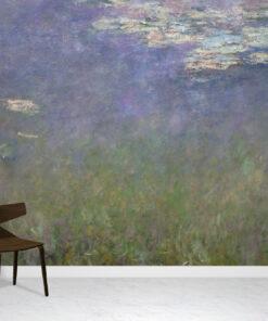 Water Lilies Wallpaper Mural