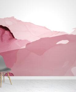 Watercolour Pink Wallpaper Mural