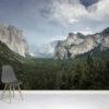 Yosemite Mountains Wallpaper Mural