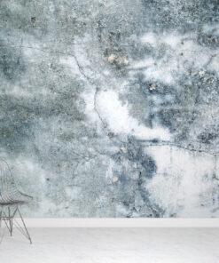 Blue Concrete Wallpaper
