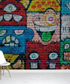 Street Art Wallpaper Mural