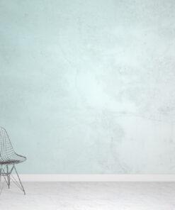 Green Plaster Wallpaper Mural