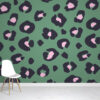 leopard print wallpaper design