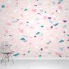 Terrazzo Pink Wallpaper