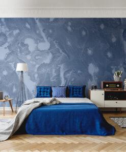 Blue Paint wallpaper mural