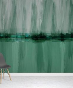 Wash Green Wallpaper Mural
