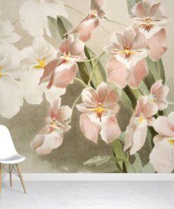 Orchid Flower Wallpaper Mural