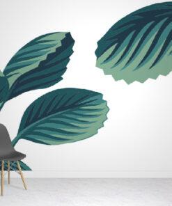 Gigantic Tropical Wallpaper Mural