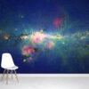 Peony nebula star Wallpaper Mural