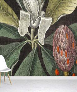 Umbrella Tree Wallpaper Mural