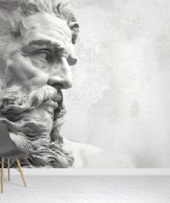 Roman Neptune Wallpaper Mural