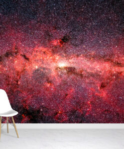 Swirling Star Wallpaper Mural