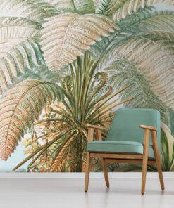 Antique Jungle Wallpaper Mural