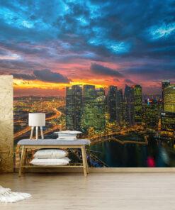 Horizon City Wallpaper Mural