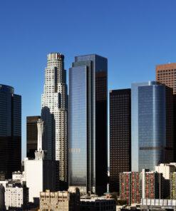 Los Angeles skyline wallpaper mural