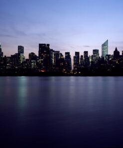 New York Skyline wallpaper mural.