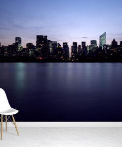New York Skyline wallpaper mural
