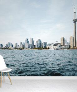 Toronto Skyline wallpaper mural