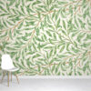 Vintage willow wallpaper mural