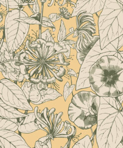 Autumnal Flower Wallpaper Mural