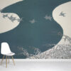 Winter Birds Wallpaper Mural