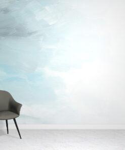blue-wallpaper-mural