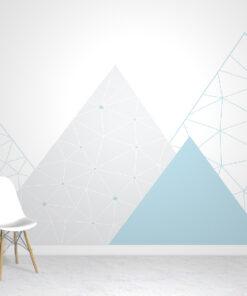 blue mountains wallpaper mural
