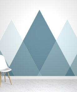 green-mountains-wallpaper mural