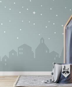 Night Sky kids wallpaper mural